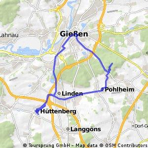 Hüttenberg - Giessen