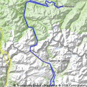 Formigal-Aubisque-Portalet-Hoz de Jaca (desde Búbal)
