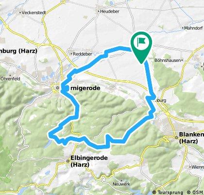 41 KM Derenburg-Eggeröder Brunnen-Zillerbachtalsperre-Derenburg.gpx