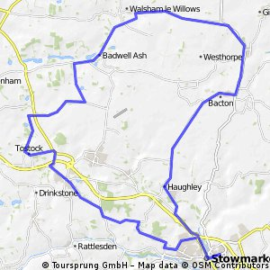 trundle finbow, willow le , badwell , woolpit