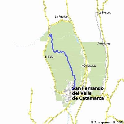 TRASAMBATO- Circuito Largo - Largada Vialidad Provincial