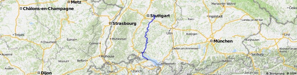 Weinstadt/Schnait – Konstanz