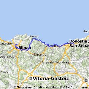 bilbao - klassische route