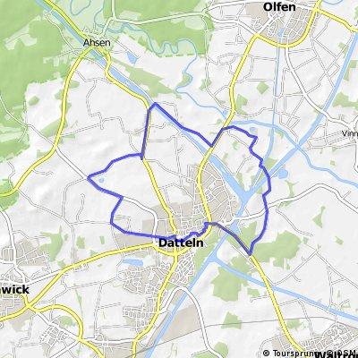 ca.20 km Radweg.