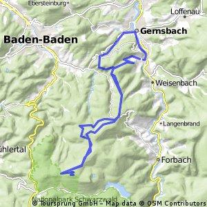 BADNERHOEHE UBER ROT