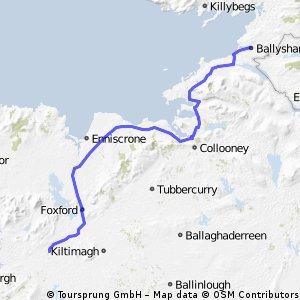 Ballyshannon to Castlebar