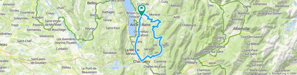 St.Jean-de-Mnne/Dauphiné '14: Aix-les-Bains - MontRevard - Aix