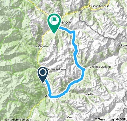 St.Jean-de-Mnne/Dauphiné '14: Guillestre - Izoard - Briancon
