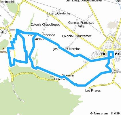 Malintzi bike LARGA