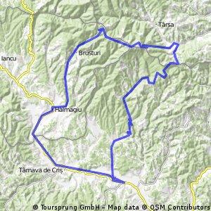 Tebea - Muntele Gaina 103km
