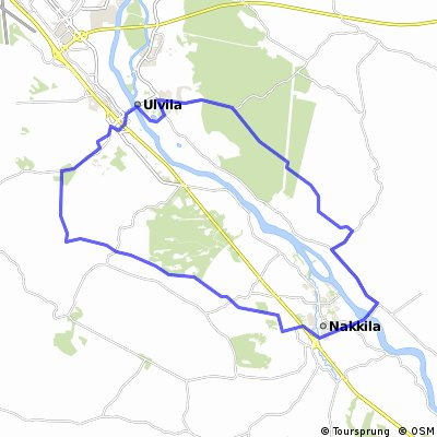 Ulvila- Massi- Nakkila- Anola- Krapisto- Ulvila