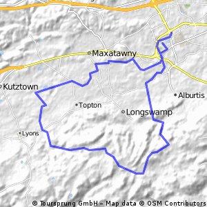 Trexlertown-Topton Mountain-Trexlertown