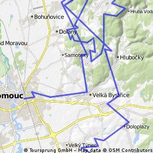 náčrt Olomouckého cyklobuznění 2014