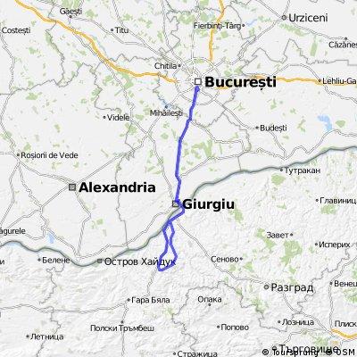 Tineretului-Giurgiu-Basarabovo-Ivanovo-Ruse-Giurgiu-Tineretului