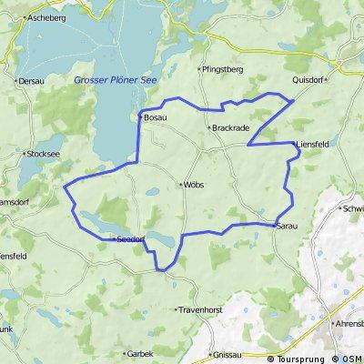 D - Bosau - Felder-Tour - 41 km