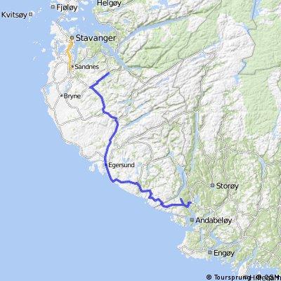 Tour de flekkefjord