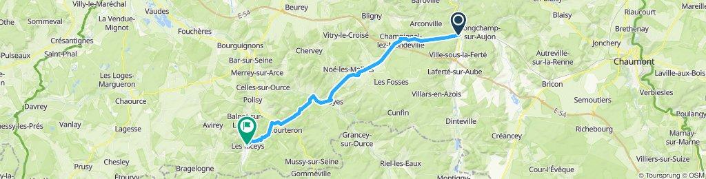 Camino 2015 06 Clairvaux nach Les Riceys