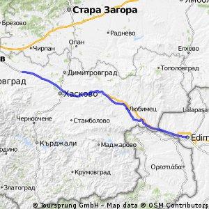 RoadToAsia day 11: Edirne - Byala Reka