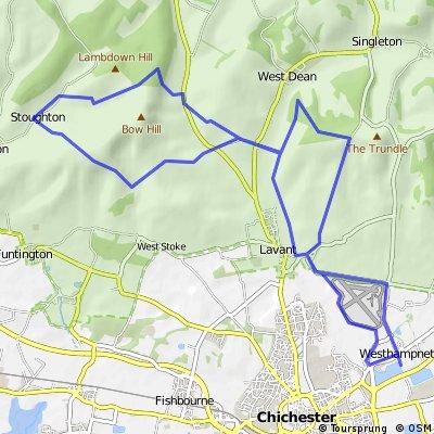 #supbikerun Event 01 | MTB Course