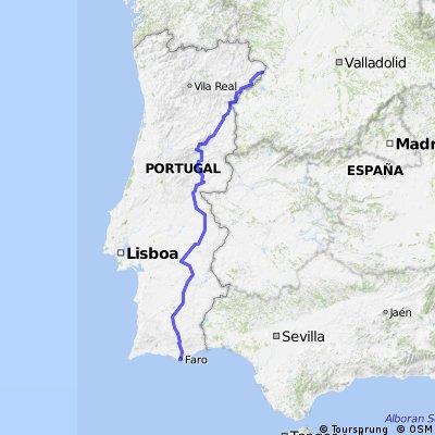 Portugal trip in 21 days - Plan B