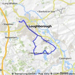 Loughborough - Swithland Reservoir - Stonehurst farm CAKE loop