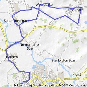 Loughborough- Manor farm  CAKE loop