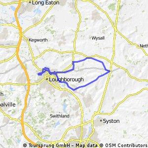 Loughborough - Barrow - Wymeswold Loop