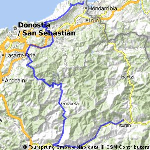 Transpirenaica 2015 etapa 7 Elgorriaga - Hondarribia