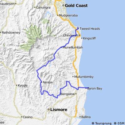 3. Coolangatta - Byron Bay