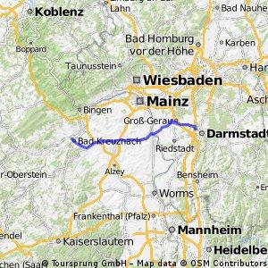 Weiterstadt_Riedbahn nach Bad Kreuznach