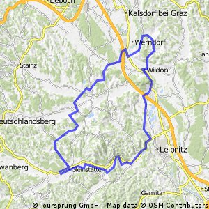 Wildoner Radmarathon 2014 Strecke B