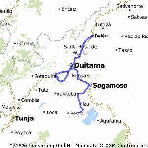 Etapa 2 - 36a Vuelta a Boyacá 2014
