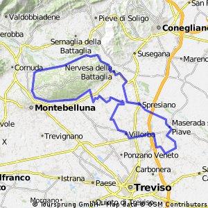 Mappa Cantieri visitati con lettera
