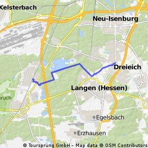 Sprendlingen - Startbahn West und zurück