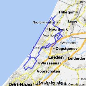 Door de duinen bij Noordwijk, Katwijk en Wassenaar CLONED FROM ROUTE 945359