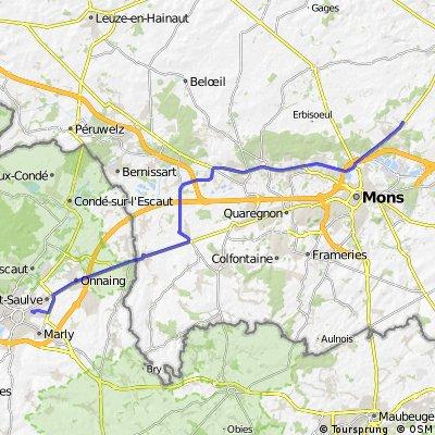 Casteau- Valenciennes