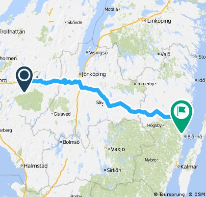 Borås-Oskarshamn