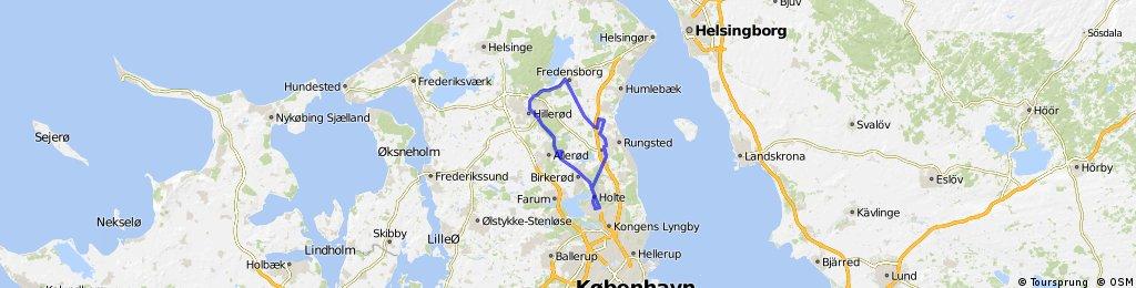 Virum-Hillerød-Hørsholm-Virum
