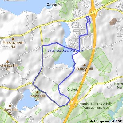 Garden Street Route I