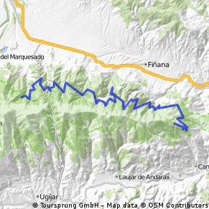 Ruta Transnevada Etapa 3: Abrigo de la Solana - Collado del Espino