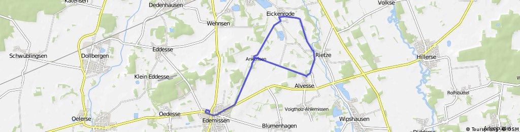 Runde Edemissen - Ankensen - Eikenrode - Alvese - Ankensen - Edemissen