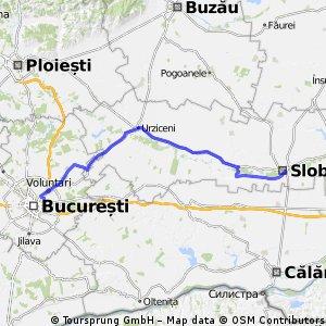 Bucuresti-Slobozia Tur/Retur