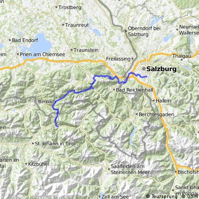 Morzg - Piding - Inzell - Weitsee - Waidring