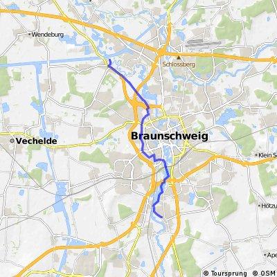Watenbüttel Stöckheim über Ringgleis und Oker