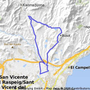 3ª Etapa Volta Ciclista Cadetes Mutxamel