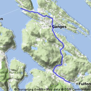 BM day5b direct to Fulford harbour