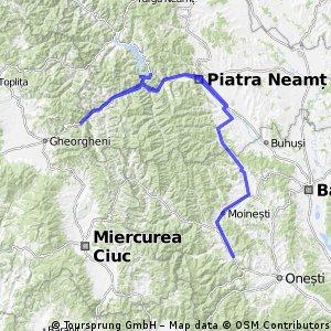 Barajul Bicaz-Cheile Bicazului-Lacul Rosu