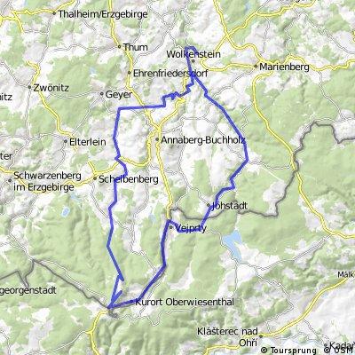 Fichtelberg-Radtour