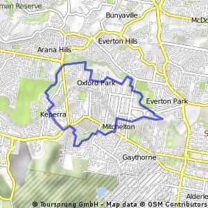 Mitchelton Parkland Route