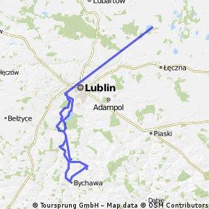 Lublin - Góra Piotrkowka - Lublin
